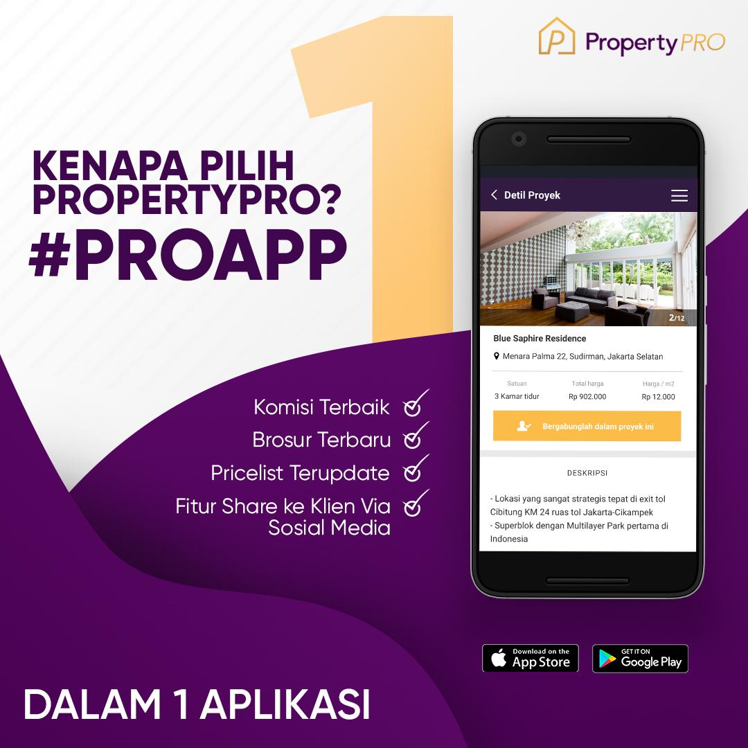 Mau Komisi Puluhan Juta? Gabung PropertyPRO