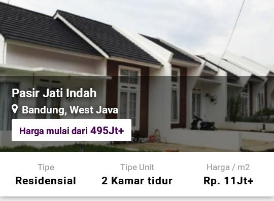 Perumahan Pasir Jati Indah Bandung